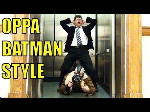 OPPA BATMAN STYLE - Parody Of PSY - GANGNAM STYLE (강남스타일) M/V Dark Knight Trilogy Spoof