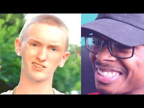 Best White Rapper This Generation   Slim Jesus - Who Run It   Reaction