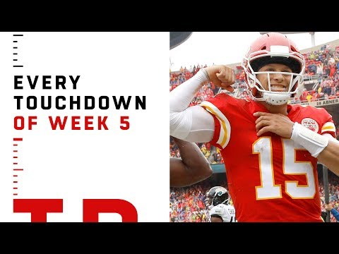 Every Touchdown from Week 5 | NFL 2018 Highlights