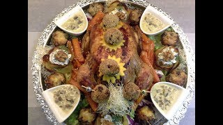 دجاج العراضة🤗 معمر بحشوة رائعة ومختلفة عن المعتاد لتبهرين ضيوفك 🐓poulet farcies