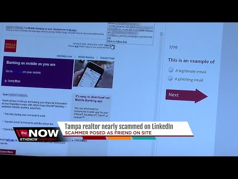 Scammer targets local realtor in LinkedIn scam