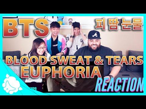 BTS (방탄소년단) REACTION -  Blood Sweat & Tears (피 땀 눈물) & Euphoria