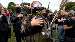 Overwhelmed White Nationalist Militia Spread Too Thin Plotting Attacks Against Everyone Trump Wants
