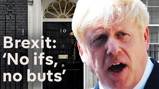 Boris Johnson vows Brexit in 99 days as he becomes Prime Minister