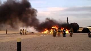 Class B Fuel Fires At Lubbock Area Training 2012