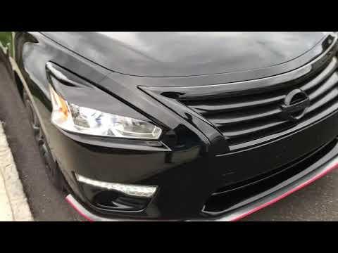 Black Nissan Altima 2015 Interior
