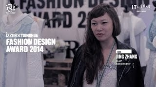 izzue x Tsinghua Fashion Design Award 2014 - HK Semi Final - Honorable Judge, Jing Zhang