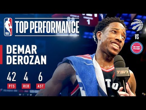 DeMar DeRozan Is Strictly Business In Overtime Thriller!