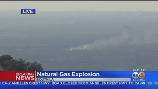 National Gas Leak Explosion In South LA Results In Multiple Injuries, Firefighters Say