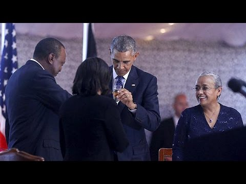 Obama: Kenyans and Americans can build on visit to bring peace