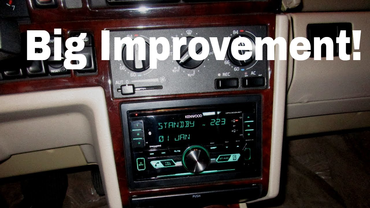 Volvo 850 Double DIN Install (volvo 850 stereo upgrade - new head unit only)