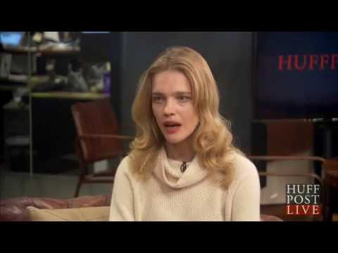 Natalia Vodianova - interview Huffpost Live: Glamour Woman of the Year 2014