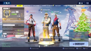 Fortnite crossplay Ps4 and Xbox SLIDING