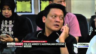 Illegal Chiropractic Clinic: Police Arrests Two Australian Citizens