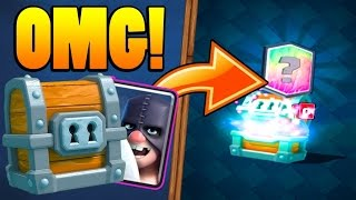 LEGENDARY IN A GIANT CHEST :: Clash Royale :: NEW EXECUTIONER + LIGHTNING BATTLE DECK!
