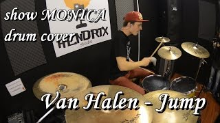 show MONICA drum cover - Van Halen - Jump