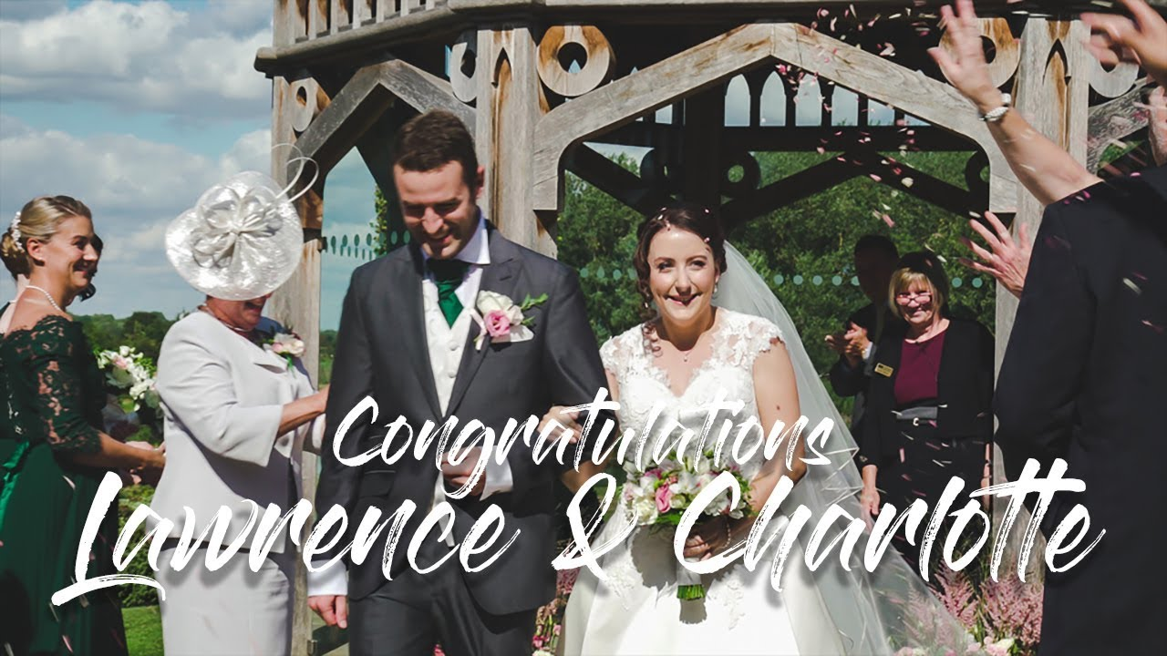 Congratulations... Lawrence & Charlotte 🤵👰💍💍