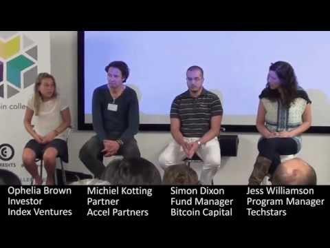 Blockchain Investor Panel (Index Ventures, Accel Partners, Bitcoin Capital), Blockchain Conference