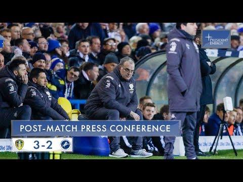 Marcelo Bielsa reaction |  Leeds United 3-2 Millwall | EFL Championship