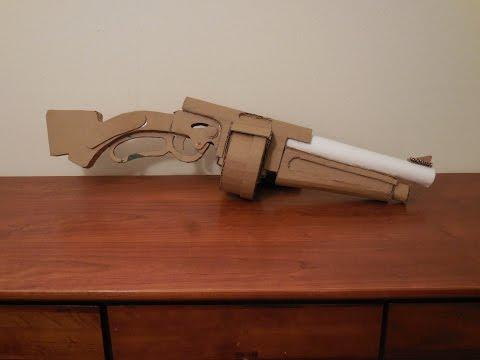 Cardboard Baby Faces Blaster