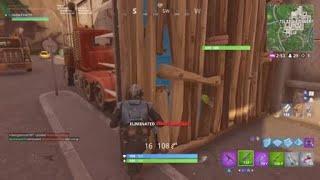 Funny trap kill in Fortnite thumbnail