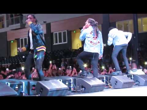 MIGOS Performs LIVE @ Coppin State University Baltimore MD 2/8/17