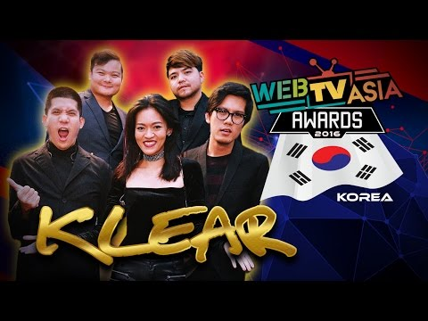 WebTVAsia Awards 2016 Performance - KLEAR