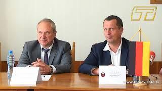 Търговище и Котбус активизират сърудничеството си