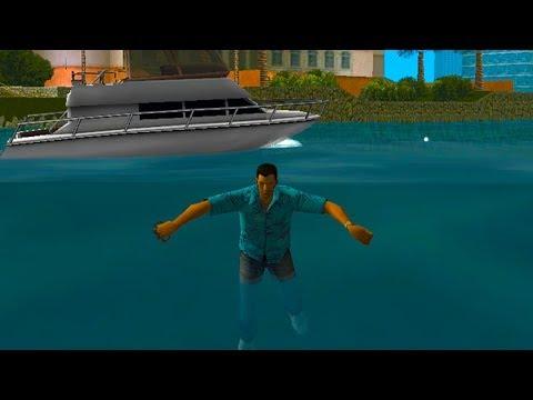 How To Swim in GTA Vice City!