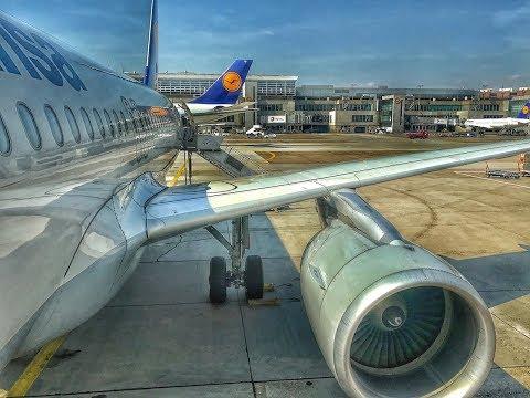 Lufthansa Business | Airbus A320 | FRA-LHR