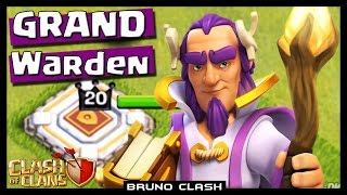 SNEAK PEEK #11: GRAND WARDEN O NOVO HERÓI DO CLASH OF CLANS - Bruno Clash