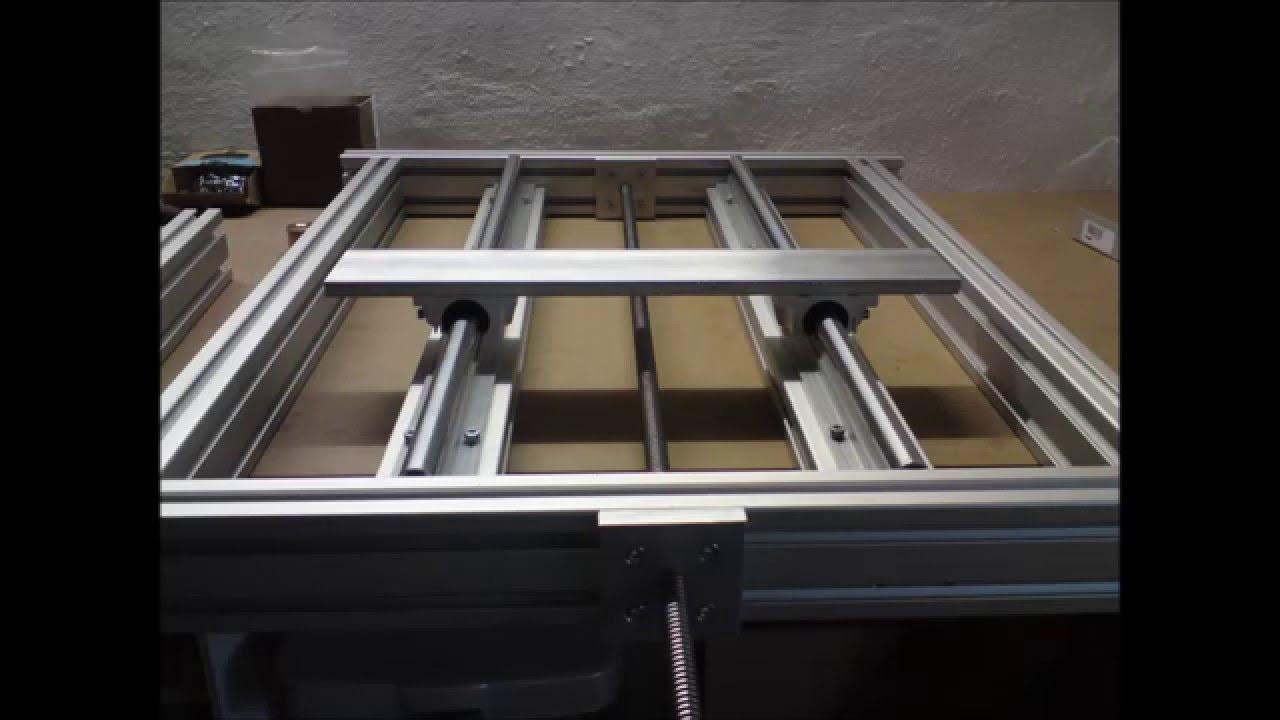 cnc fr smaschine portalfr se selber bauen aufbau mit st ckliste mill youtube. Black Bedroom Furniture Sets. Home Design Ideas