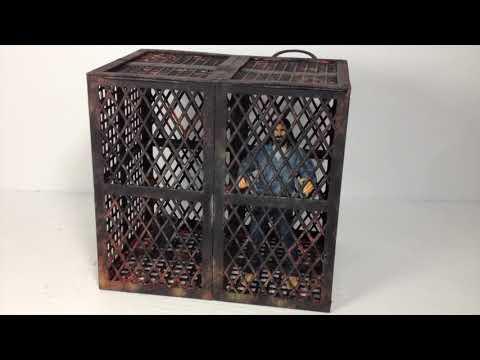Custom Prison Jail Cell for Negan The Walking Dead McFarlane Toys Prisión