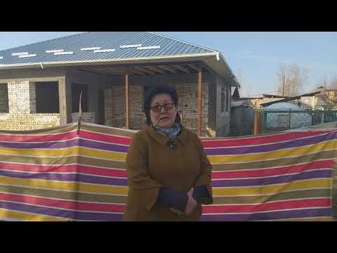Бала бакча курулуп жатат Кызыл-Кыштак айыл өкмөтүнүн Ишкаван айылында