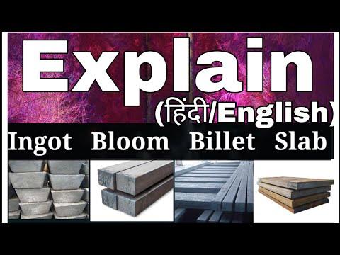 Ingot   Bloom   Billet   Slab   Semi Finished Casting Product   Hot Rolling   Billet And Bloom