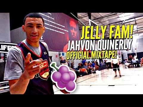 JellyFam Jahvon Quinerly OFFICIAL Mixtape!! Boy Got Nasty HANDLES & Drops SICK DIMES! #1 PG?
