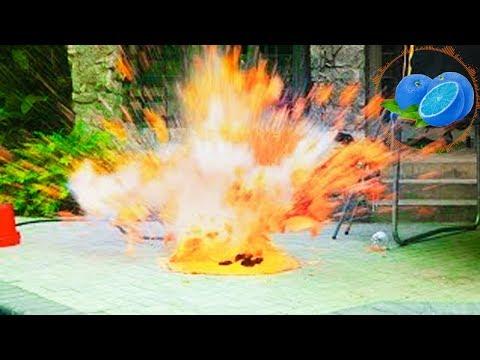(+18) Mega Explozii    GHEATA CARBONICA + APA ?!!