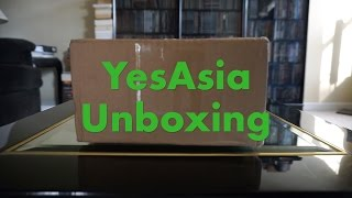 YesAsia Unboxing SCANDAL