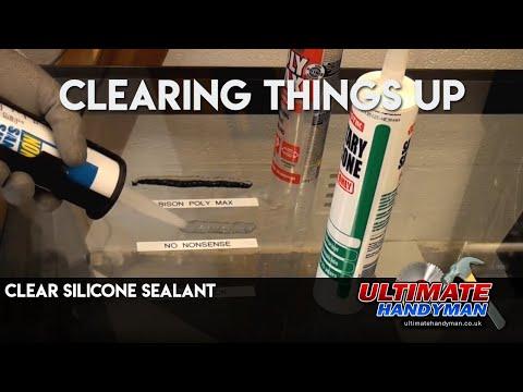 Clear Silicone Sealant
