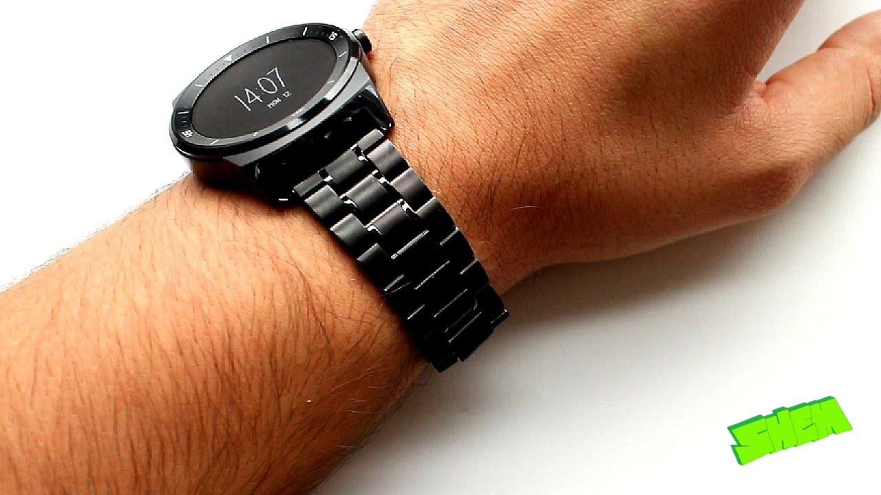 LG G Watch R – очень «умные» часы. - GoHa.Ru