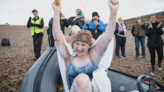 Woman Swims English Channel 4 Times in 54 Hours