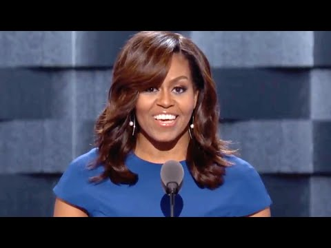 First Lady Michelle Obama's Full 2016 Democratic National Convention Speech