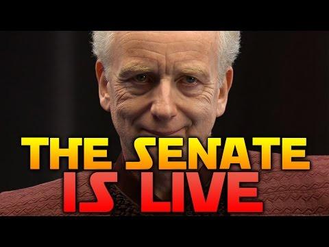 THE SENATE IS LIVE - Star Wars Battlefront