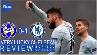 BATE BORISOV 0-1 CHELSEA || VERY LUCKY CHELSEA! || ONLY UNBEATEN TEAM IN EUROPE!