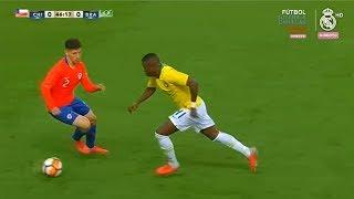 Vinicius Jr vs Chile U-20 | Every Touch | 13/10/2018