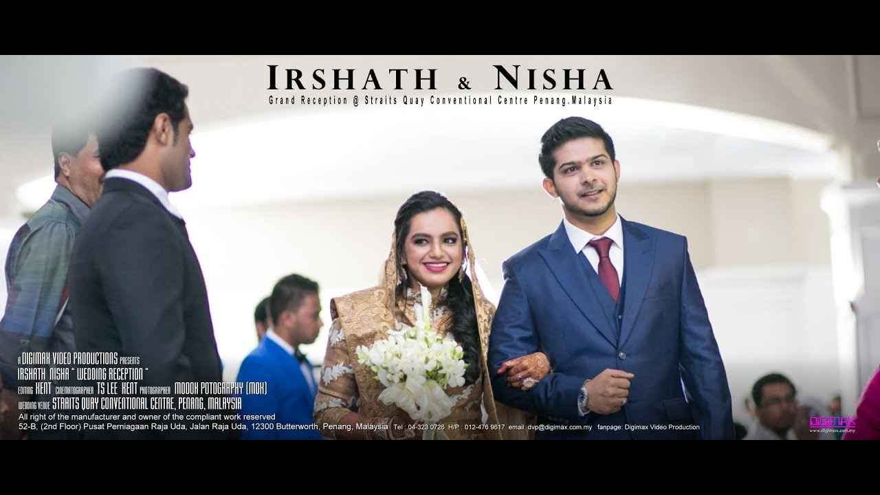Grand Indian Muslim Wedding Reception Irshath Nisha By Digimax Video Productions You