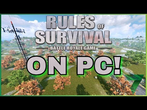 How to play Rules Of Survival on PC? | Rules of Survival