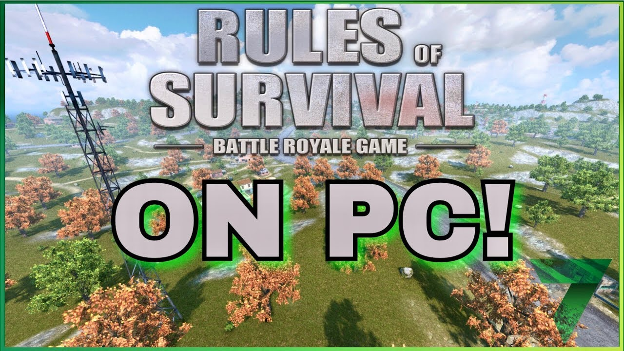 rules of survival pc youtube