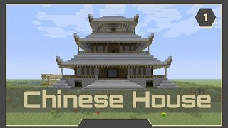 Chinese House Tutorial #1 - Minecraft Xbox 360/Xbox One/PS3/PS4/PC/Wii U