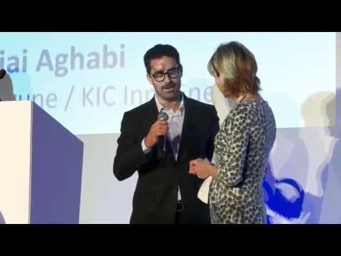 Rajai Aghabi (KIC InnoEnergy), EIT Innovators Award Winner 2015